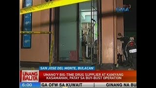 UB: Umano'y big-time drug supplier at kaniyang kasamahan, patay sa buy-bust operation sa Bulacan