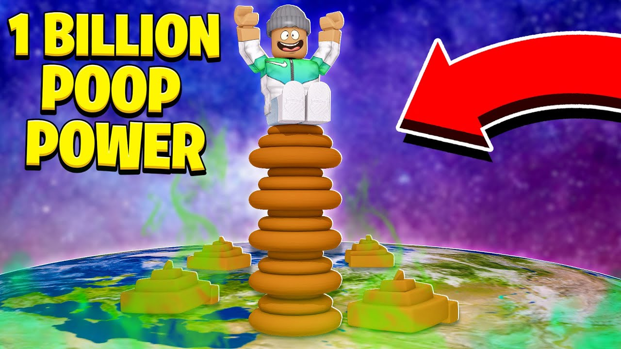 Roblox Youtube Poop I Ate Everything And Got 1 000 000 000 Poop Power Roblox Youtube