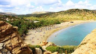 Пляж Ваи на окраине Крита в Греции, нас пытались убедить, что именно тут снимали рекламу баунти(Пляж Ваи на окраине Крита в Греции, нас пытались убедить, что именно тут снимали рекламу баунти Шагай вперед..., 2014-09-16T10:51:53.000Z)