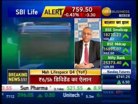Mr. Sanjeev Nautiyal MD & CEO, SBI Life in talks with Zee Business Final Trade