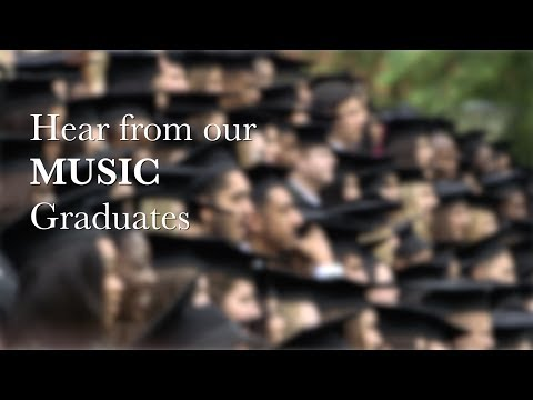 Hear from our Music graduates