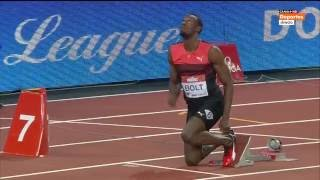 Usain Bolt  19,89 gana los 200 metros en Londres  2016