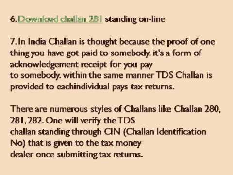 Challan 281 In Pdf Format