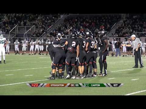 Stoughton High Football vs Canton (10-6-17)