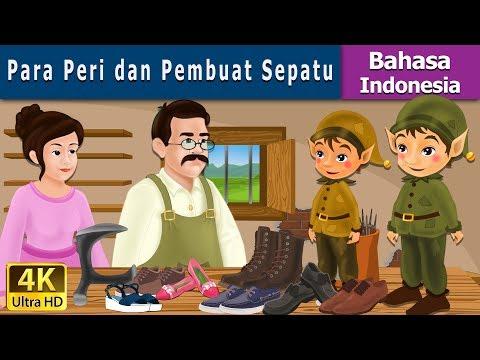 Para Peri dan Pembuat Sepatu - Cerita Untuk Anak-anak - Animasi Kartun - 4K - Indonesian Fairy Tales