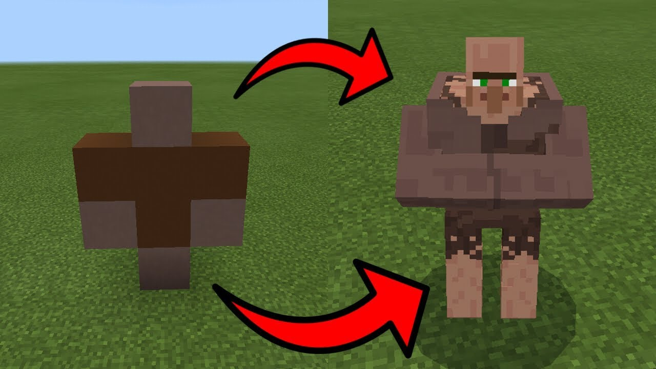 how to draw a minecraft villager