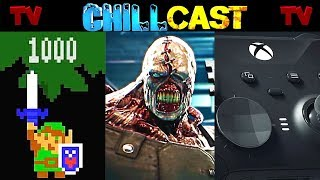 The Chillcast Ep 78- Zelda Mario Maker 2  Re3 Remake Confirmed  X Box Scarlett Rumors