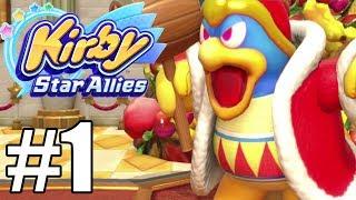 Kirby Star Allies Gameplay