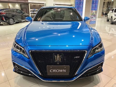 НОВЫЙ TOYOTA CROWN из Японии!