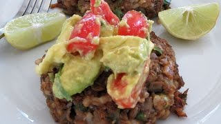 Lentil Brown Rice Patties -- The Frugal Chef