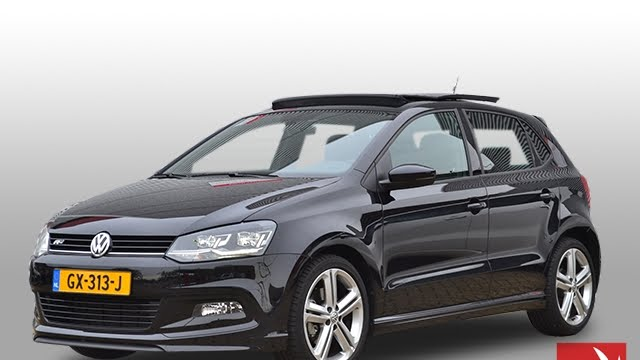 volkswagen polo 1 0 tsi highline panoramadak navi r line achteruitrijcamera 17 youtube. Black Bedroom Furniture Sets. Home Design Ideas