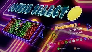 PAC MAN Championship Edition DX - Manhattan courses gameplay