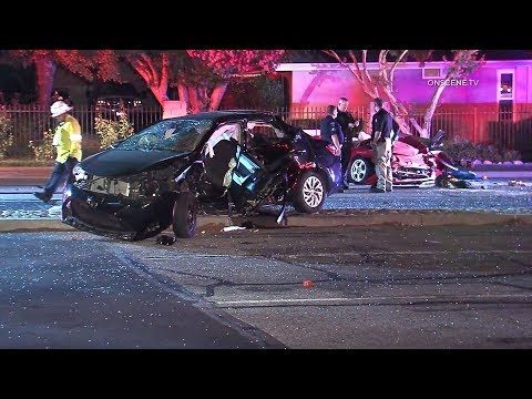 High Speed Pursuit Leaves Two Dead, Four Critically Injured In La Verne
