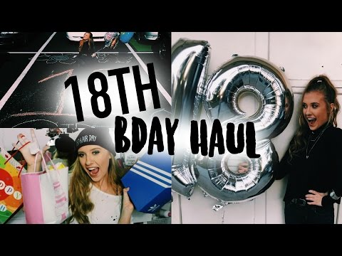 WHAT I GOT FOR MY 18TH BIRTHDAY + WHAT I DID