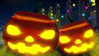 Scary Pumpkin | Kids Halloween Songs | Videos for Children by Little Treehouse