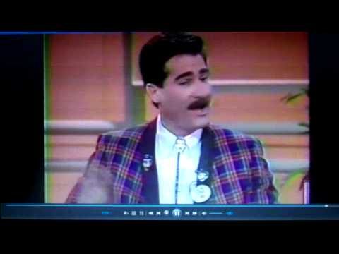 LATE MR PETE on Phil Donahue Show 1989 KTLA 5 Peter Chaconas CULT Public Access tv in LOS ANGELES