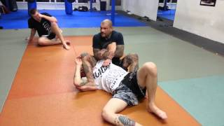 North south to arm bar
