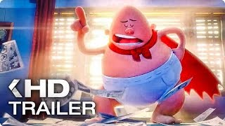 CAPTAIN UNDERPANTS: The First Epic Movie Clip & Trailer (2017)