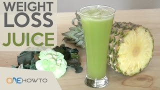 Weight loss juice recipe - Celery & Cucumber