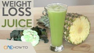 Weight loss juice recipe - Celery & Cucumber