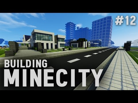 Building Minecity: Minecraft PC Livestream #12 | The Mansion