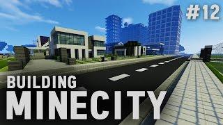 Building Minecity: Minecraft PC Livestream #12   The Mansion