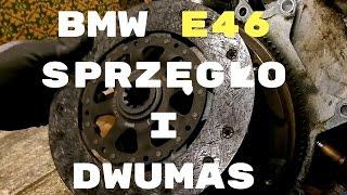 BMW E46 SPRZĘGŁO SAMONASTAWNE (SAC) I KOŁO DWUMASOWE oraz wyciąganie łożyska chlebem