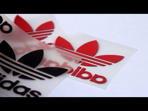 India Aumentar Aplastar  Custom 3D Screen Printing on Adidas silicone heat transfer labels - YouTube