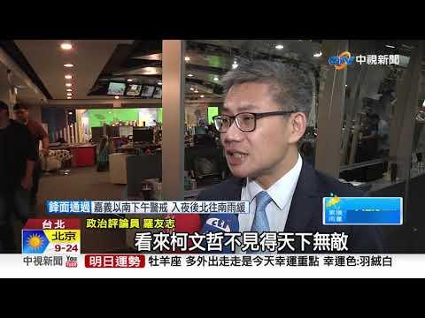 若明天選總統 線上投票42%選韓國瑜第一│中視新聞 20190520