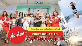 First Route Experience to Sihanoukville with Airasia