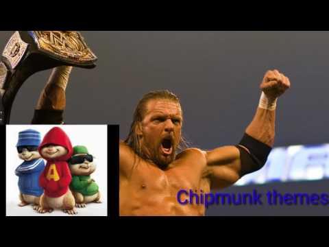 Triple H's theme song chipmunk version (WWE)