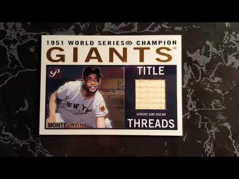 Baseball HOF'ers Game-Used Cards (I)