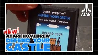 Affordable Homebrew:  Defend Your Castle 2600
