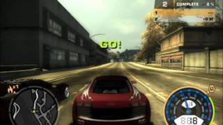 Need For Speed Most Wanted - Darius vs Webster Blacklist Nr 5 [HD]