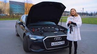 За такие деньги и так грустно? Ауди А6 2020, а где понты? Audi A6 2020