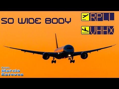 SOWIBO PREPAR3D [P3D] PMDG 777-200LR Manila RPLL - Hong Kong (kai Tak) VHHH - AFVA - AFV245