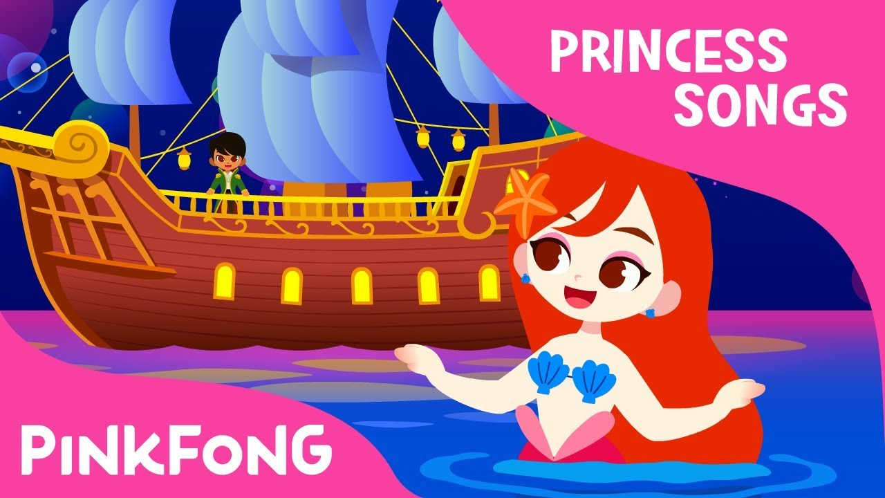 The Little Mermaid | Princess Songs | Pinkfong Songs for Children
