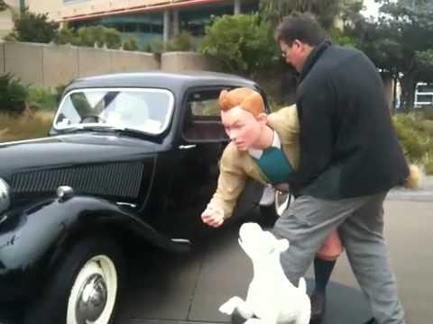 Richard Taylor and Tin Tin