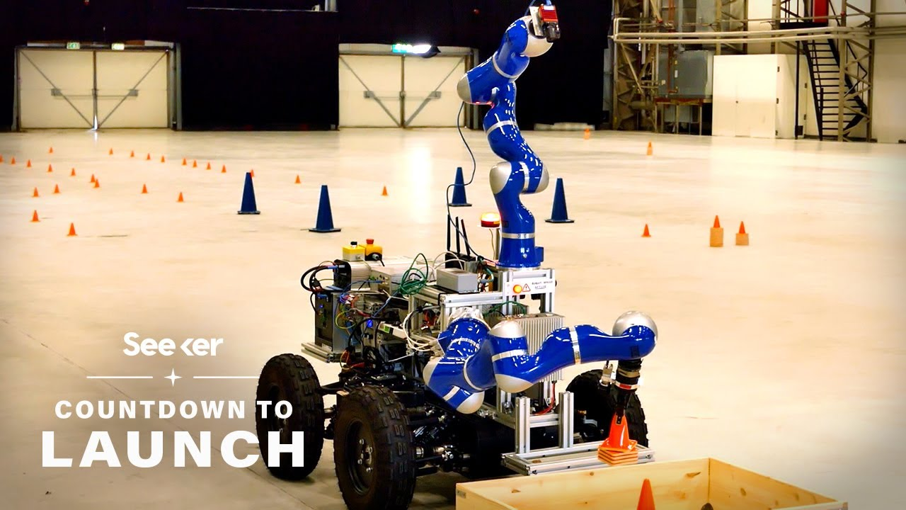 From Haptic Robots to a Plastic Recycler, Here's the Exciting Tech Heading up to Space