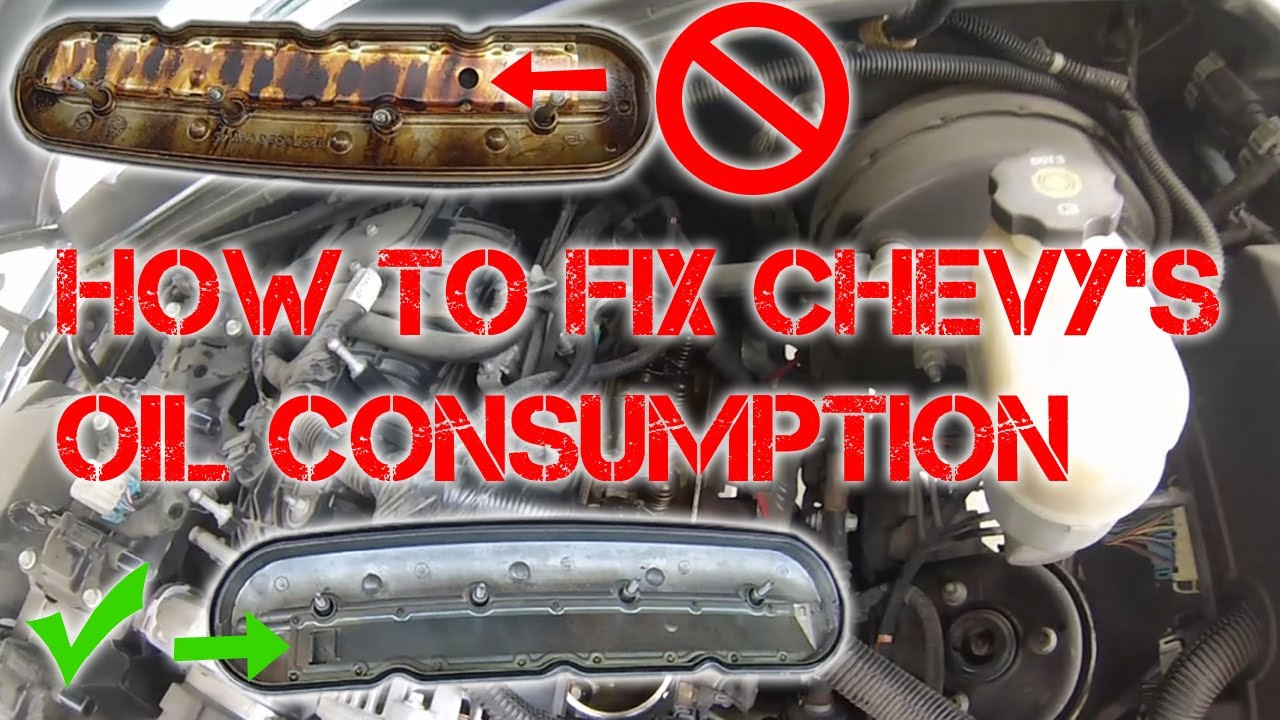 Oil Consumption Fix: Replacing the Valve Cover and PCV on ...