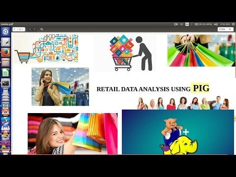 how to analyze Retail data using big data tools