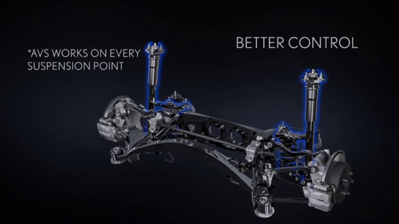 Lexus Adaptive Variable Suspension YouTube