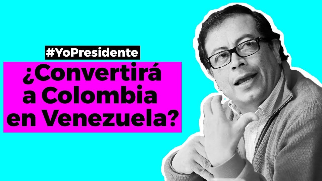 Resultado de imagen para colombia se colvera como venezuela y si vota por petro