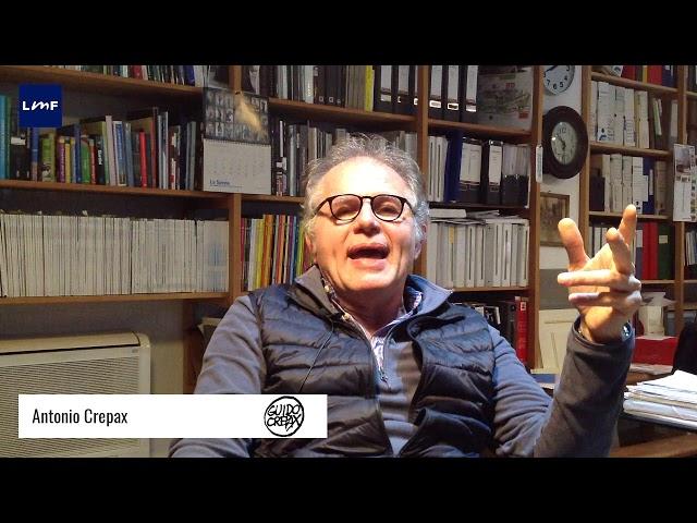 Cosa è l'Archivio Crepax - Antonio Crepax (Archivio Crepax)