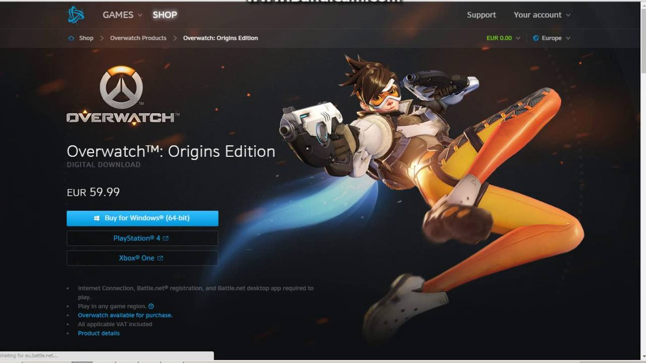 How To Buy Overwatch On Battlenet For Free Youtube