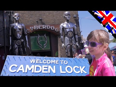 [VLOG] Fun au Camden Lock et au Cyberdog - Studio Bubble Tea visiting Camden Town London