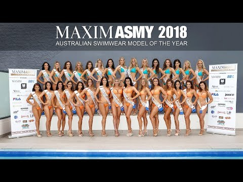 MAXIM Australian Swimwear Model Of The Year 2018