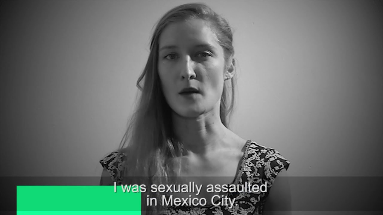 Women in Mexico stand up against sexual violence #NoTeCalles
