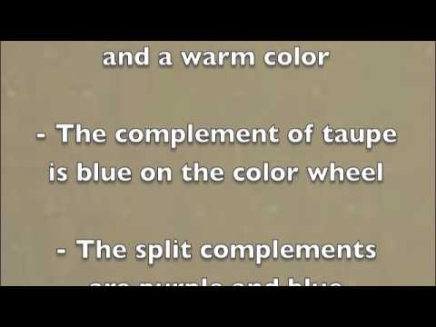 Taupe Color Meanings What Is Taupe   Youtube