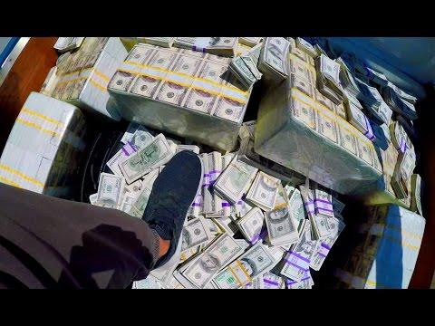 A Million Dollars In Cash!